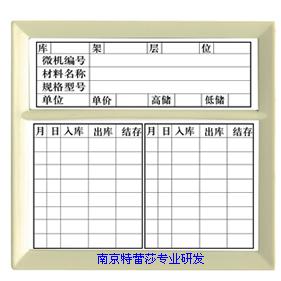 E型磁性材料卡